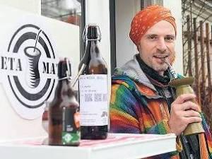 Fabricio Martins Do Canto creador de la cerveza de mate Mier