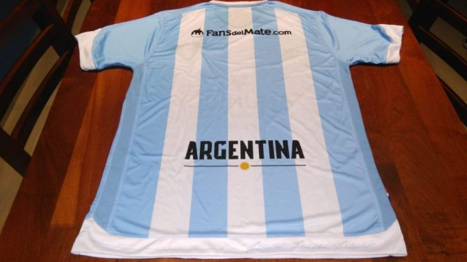 Camiseta de Argentina fans del mate