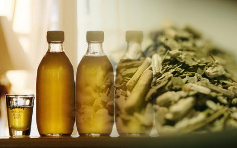 receta de licor de yerba mate