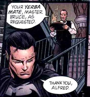 Batman también es un ferviente consumidor de una infusión de yerba mate