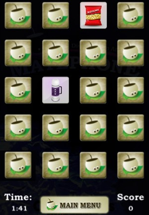 MatePhone, juego de memoria relacionado al mate