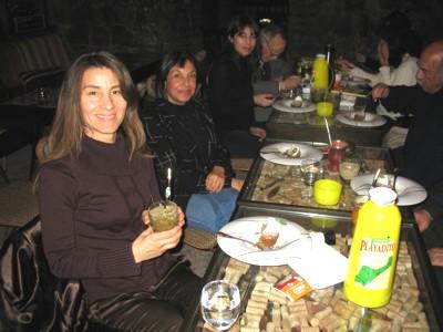 Degustación de mate en Santiago de Chile