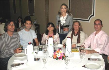 Karla Johan en la charla sobre el mate en Corrientes Capital