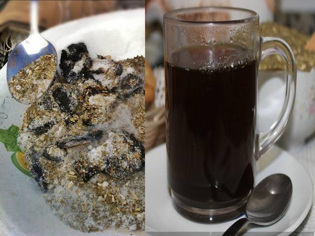 Mate cocido quemado, receta paraguaya
