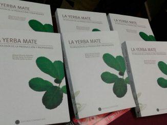 Libro recopila tres décadas de investigación en yerba mate