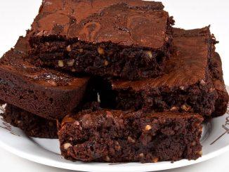 Receta fácil de Brownies para acompañar el mate