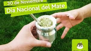 Día nacional del mate. 30 de Noviembre