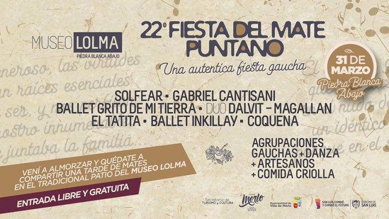 Fiesta provincial del mate en San Luis