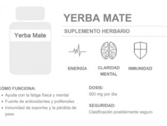 Los mejores suplementos energéticos y dietarios de Yerba Mate