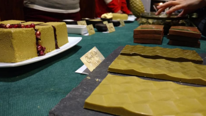 Chocolate con sabor a yerba mate apto para celíacos. Alimentos innovadores